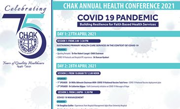 Focus on CHAK Annual Health Conference 2021